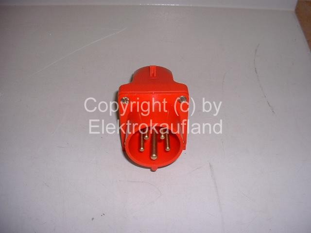 CEE-Einspeisedose AP 400V/16A 5-polig 6h IP44