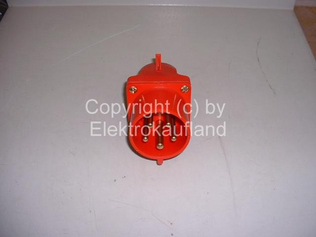 CEE-Einspeisedose AP 400V/32A 5-polig 6h IP44