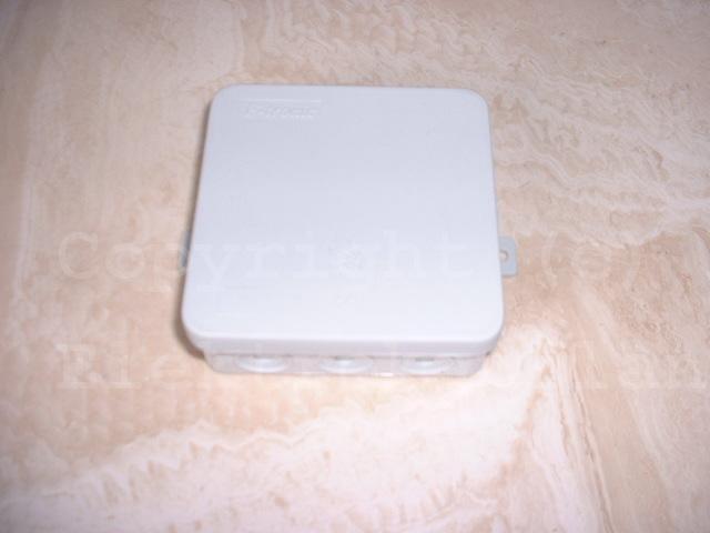 Aufputz Feuchtraum Abzweigkasten (ca.)100x100 IP54