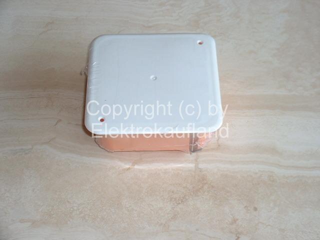Hohlwanddosen Abzweigdose/Abzweigkasten 107x107mm
