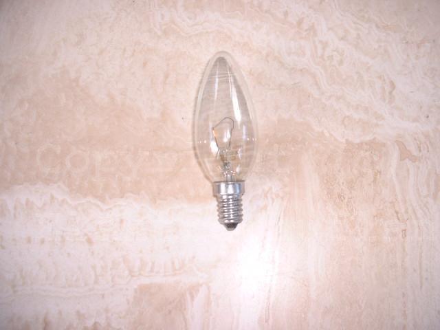 Kerzenlampe E14/230V 25W klar
