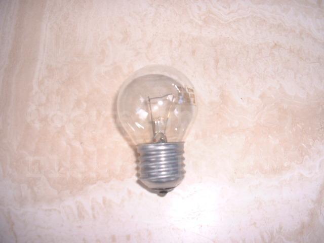 Tropfenlampe E27/230V 15W klar