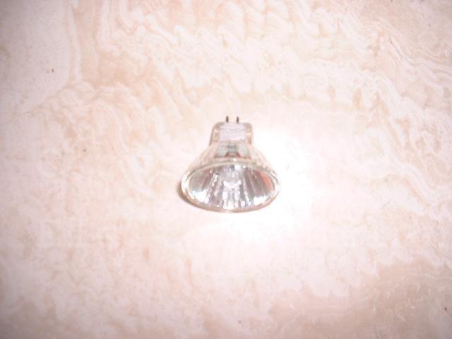 Niedervolt Halogenlampe 35mm 12V 20W ohne Deckglas