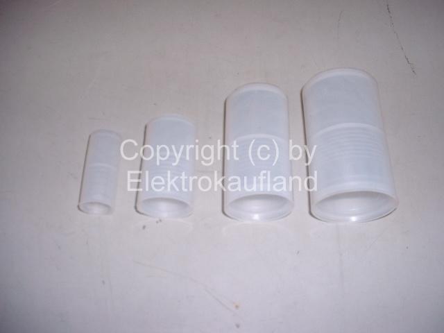 Universalmuffe (Universalverbinder) 50mm für Wellrohr (Leerrohr)