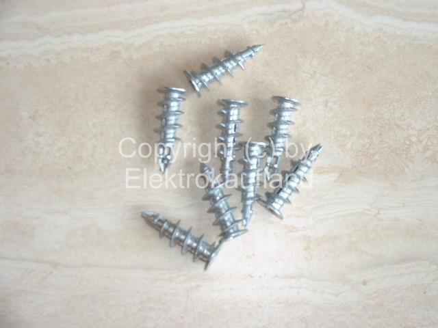 Gipskartondübel Metall selbstschneidend 100 Stück