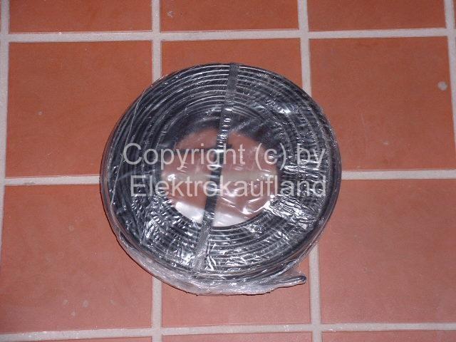 PVC-Aderleitung flexibel H07V-K 1x50mm² METERWARE schwarz