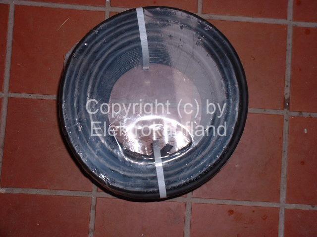 Gummileitung H05RR-F 5x1,5mm² METERWARE
