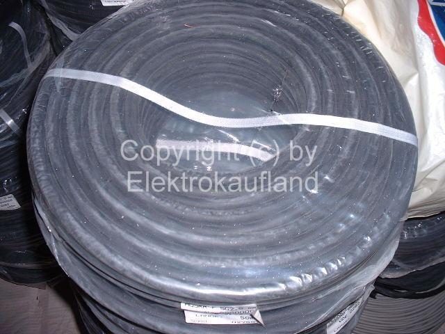 Gummileitung H07RN-F 5x2,5mm² 95 m