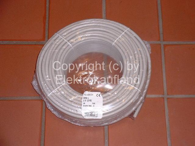 NYM-J Mantelleitung 3x1,5mm² 100m
