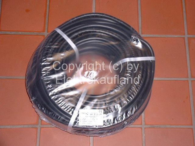 NYY-J Erdkabel 5x2,5mm² 100m