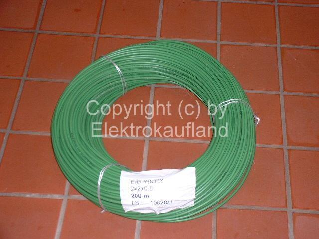 EIB-Kabel JY(ST)Y 2x2x0,8 200m