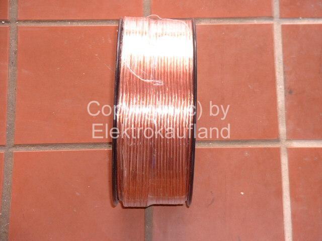 Lautsprecherkabel hochflexibel 2x1,5mm² transparent 100m