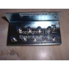 Erdungsschiene (Erdungswinkel) für bis zu 9 Koaxkabel mit F-Schraubverbindungen