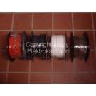 Lautsprecherkabel flexibel 2x0,75mm² schwarz 100m